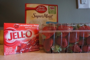 Jell-O Cake Ingredients